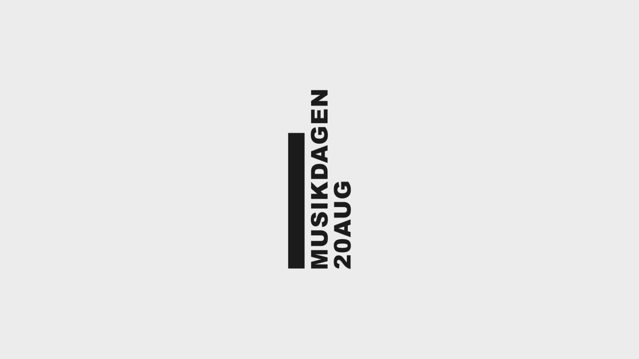 Hans Pelle Jart Musikdagen visual identity